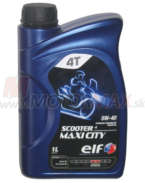 ELF Scooter 4T Maxi City 5W-40 1L