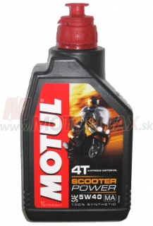 Motul SCOOTER POWER 4T 5W-40 1L
